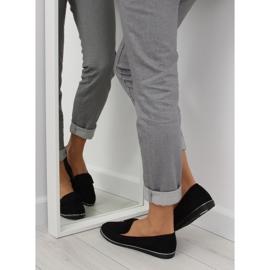 Women's loafers black 127-2 black 6