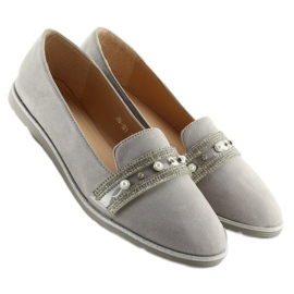 Loafers lordsy gray JN-181 gray grey 4