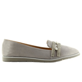 Loafers lordsy gray JN-181 gray grey 3