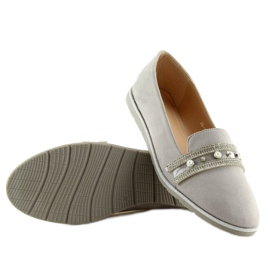 Loafers lordsy gray JN-181 gray grey 5