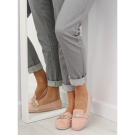 Pink lingua loafers JN-181 Pink 6
