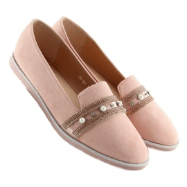 Pink lingua loafers JN-181 Pink 3