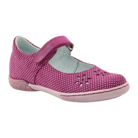 Ballerinas girls' shoes Ren But 3285 pink white 1