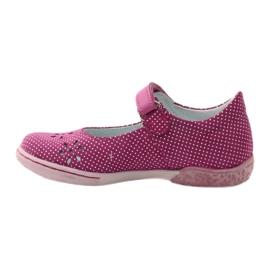 Ballerinas girls' shoes Ren But 3285 pink white 2