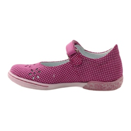 Ballerinas girls' shoes Ren But 3285 pink white 2