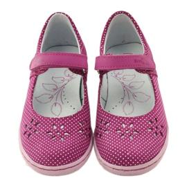 Ballerinas girls' shoes Ren But 3285 pink white 4