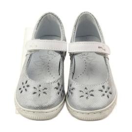 Ballerinas girls' shoes Ren But 3285 grey 4