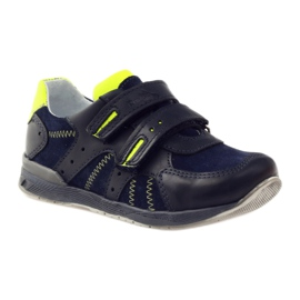Ren But Boots for Velcro boot But 3282 navy multicolored green 1