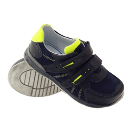 Ren But Boots for Velcro boot But 3282 navy multicolored green 3