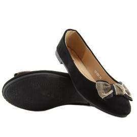 Women's ballerinas classic black black 3