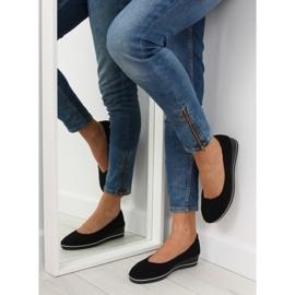 Ballet shoes wedges black D73 black 6