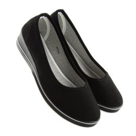 Ballet shoes wedges black D73 black 3