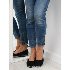Ballet shoes wedges black D73 black 5