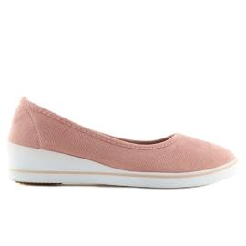 Ballet pumps pink D73 pink 2