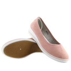 Ballet pumps pink D73 pink 1