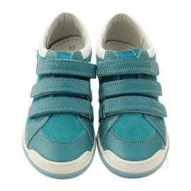 Girls' shoes for Velcro Bartek pink yellow blue white 4