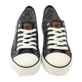 DK Sneakers sneakers tied 0024 gray grey 4