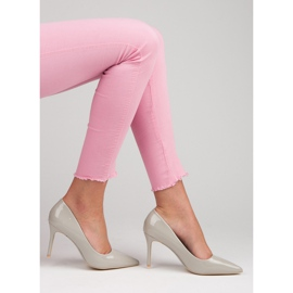 Vices Lacquered heels grey 1