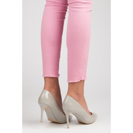 Vices Lacquered heels grey 2