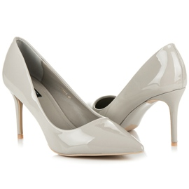 Vices Lacquered heels grey 6