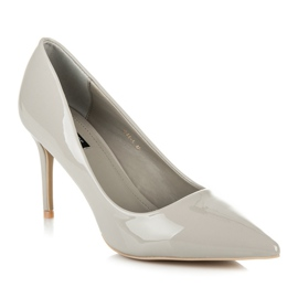 Vices Lacquered heels grey 3