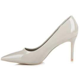 Vices Lacquered heels grey 4