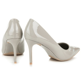 Vices Lacquered heels grey 5