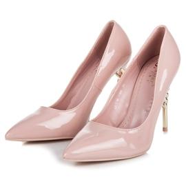 Seastar Heels with decorative heel pink 3