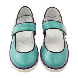 Ballerinas for girls Bartek 25368 turquoise green 4