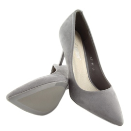 Suede pins Shop Candy gray LEI-90 D.GREY 3