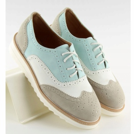 A-9250 Gray women's loafers grey 1