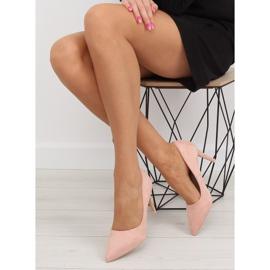 Women's pink suede stilettos RS-GH31 Pink 1