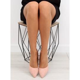 Women's pink suede stilettos RS-GH31 Pink 2