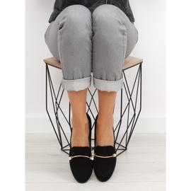 Black Women's loafers T315P Black 5