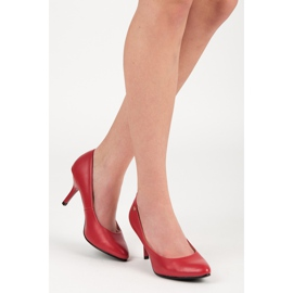 Vices Classic pumps red 1