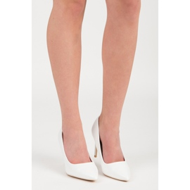 Vices White High Heels 6