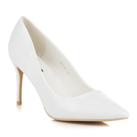 Vices White High Heels 1