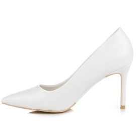 Vices White High Heels 2