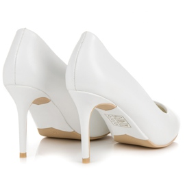 Vices White High Heels 3