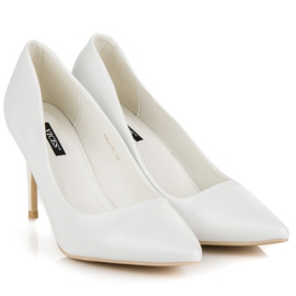 Vices White High Heels 4