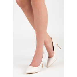 Vices Pastel heels brown 6