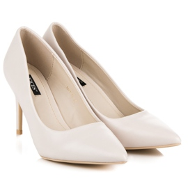 Vices Pastel heels brown 1