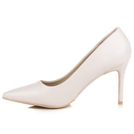 Vices Pastel heels brown 3