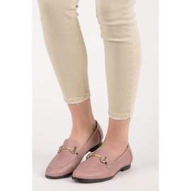 Vices Slip-on Moccasins pink 6