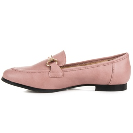 Vices Slip-on Moccasins pink 3