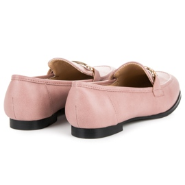 Vices Slip-on Moccasins pink 4