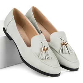 Vices Loafers with tassels grey 3