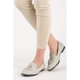 Vices Loafers with tassels grey 1