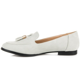 Vices Loafers with tassels grey 4