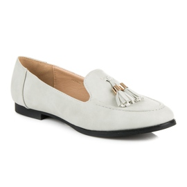 Vices Loafers with tassels grey 5